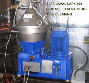 Alfa Laval LAPX 404 Clarifier Centrifuge for fermentation, cell harvesting, broth clarification, cell debris separation for biotech, pharmaceutical, chemical and specialty pilot plant, laboratory scale up and production separation and purification applications.