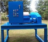 NX 309 Reconditioned Decanter Centrifuge on platform with motors and control panel